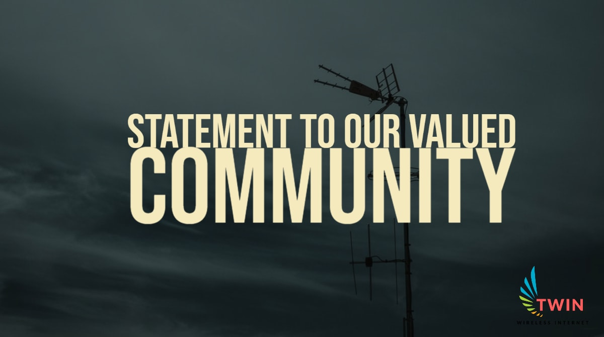 Statement to our valued community
