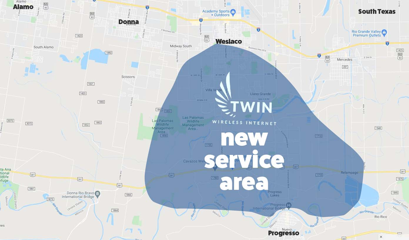 Bridging the Digital Divide - Airfiber for the Rio Grande Valley - Airfiber - Twin Wireless